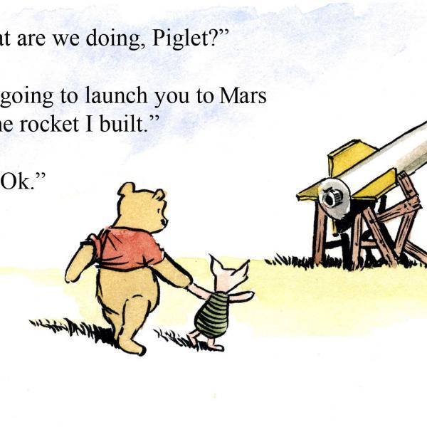 winnie the pooh mars
